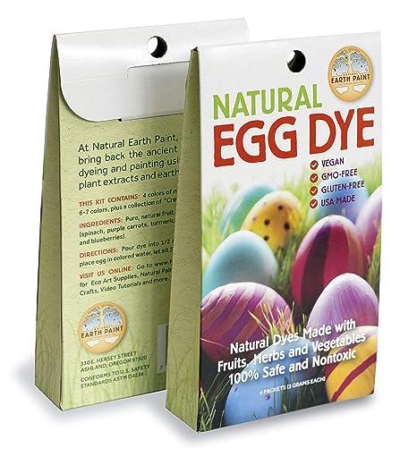 Natural Earth Paint - Natural Egg Dye Kit: Amazon ca: Home & Kitchen