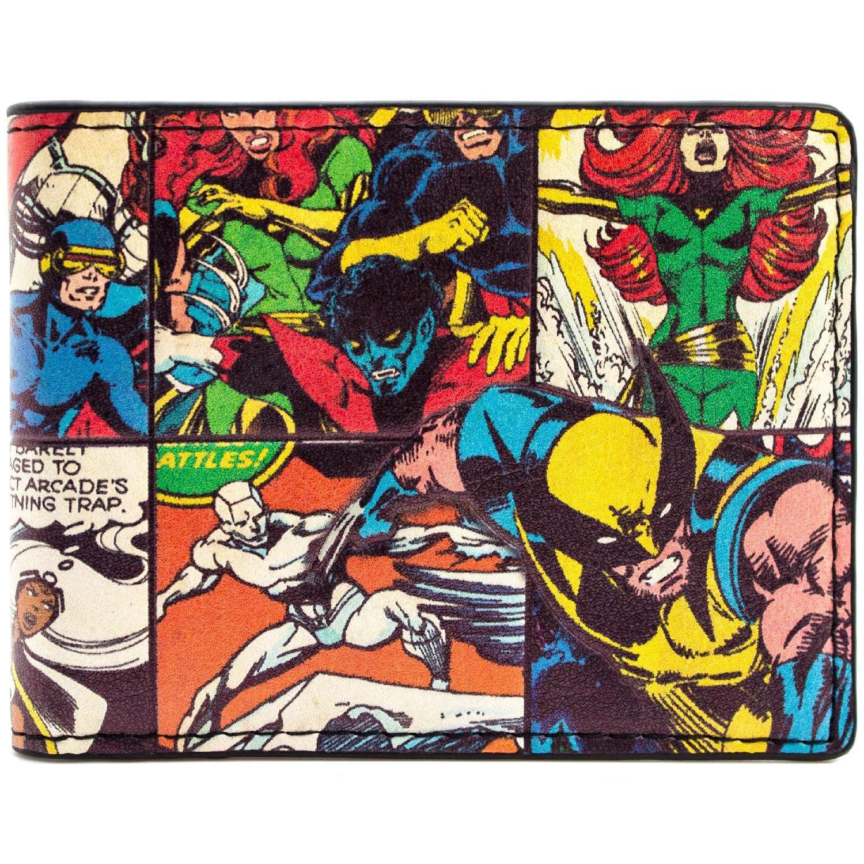 X-Men Wolverine Bestia Tempesta Comic Style Striscia Nero portafoglio 29668