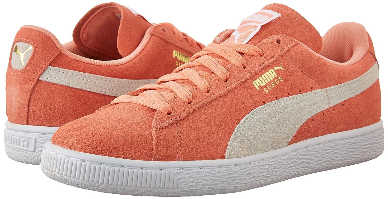 sale retailer 7555e 08b7c ... PUMA Women s Suede Classic Sneaker B010FQ0SU0 B010FQ0SU0 B010FQ0SU0 9.5  M US Desert Flower White ...