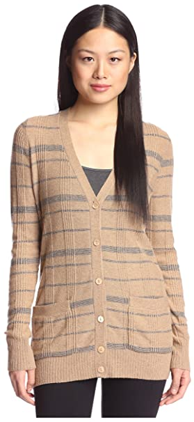 Amazon.com: Cashmere Addiction Plaid de la mujer chaqueta de ...