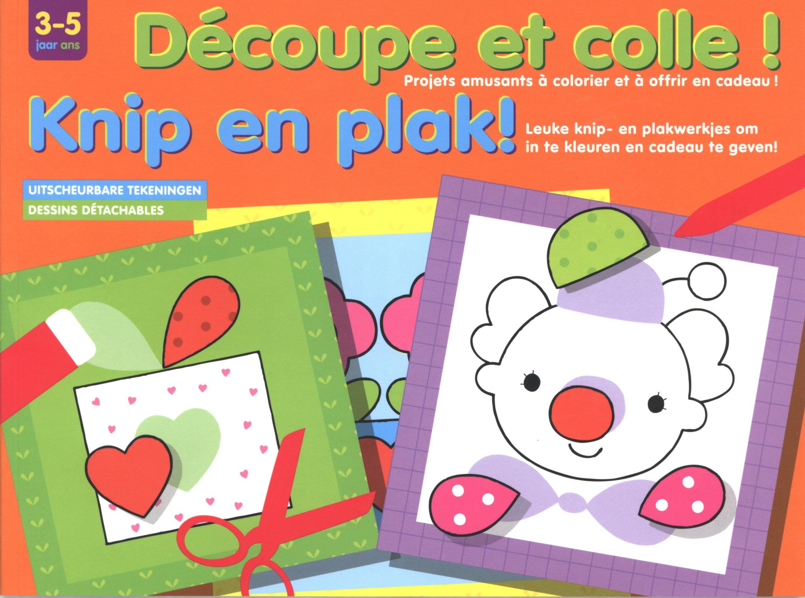 Decoupe Et Colle 3 5 A Dessins Detachables 9789044730463