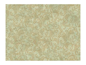 York Wallcoverings Ps3846 Wind River Frescoed Textural Damask