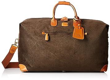 2ccaf75efc07 Bric's Life 22 Inch Cargo Overnight Duffle Bag Weekend Duffel, Olive