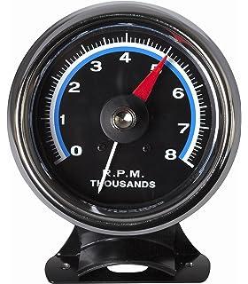 Groovy Amazon Com Sunpro Sst802R 3 3 8 Retro Super Tachometer Automotive Wiring Digital Resources Honesemecshebarightsorg