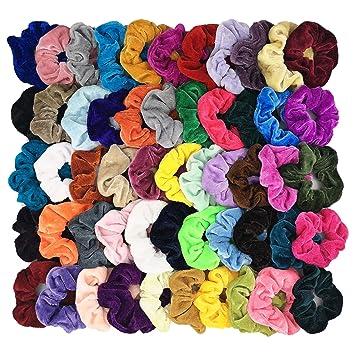 Girls Hair Scrunchies Velvet Elastics Hair Ties Scrunchy Bands Ties Ropes Gifts