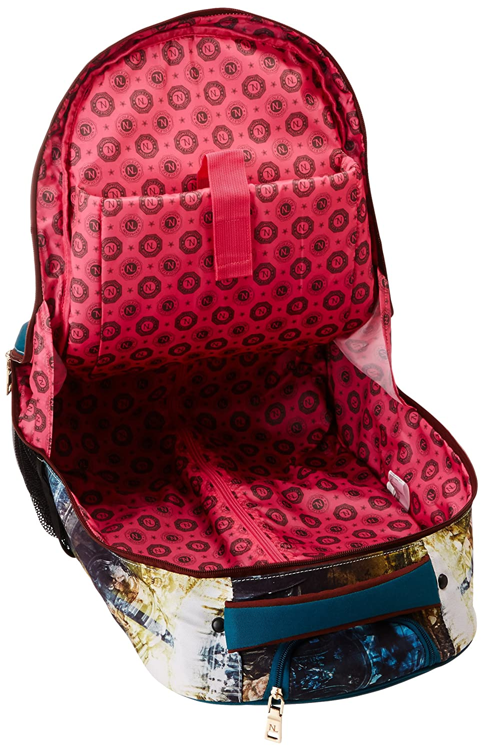 7fd22b2ecdd Amazon.com: Nicole Lee Leona 21 Inch Rolling Backpack with Laptop  Compartment, Guardian King