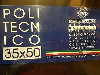MORGANTINA POLITECNICO BLOCCO SATINATO FORMATO 35X50 20FG. 220gr.