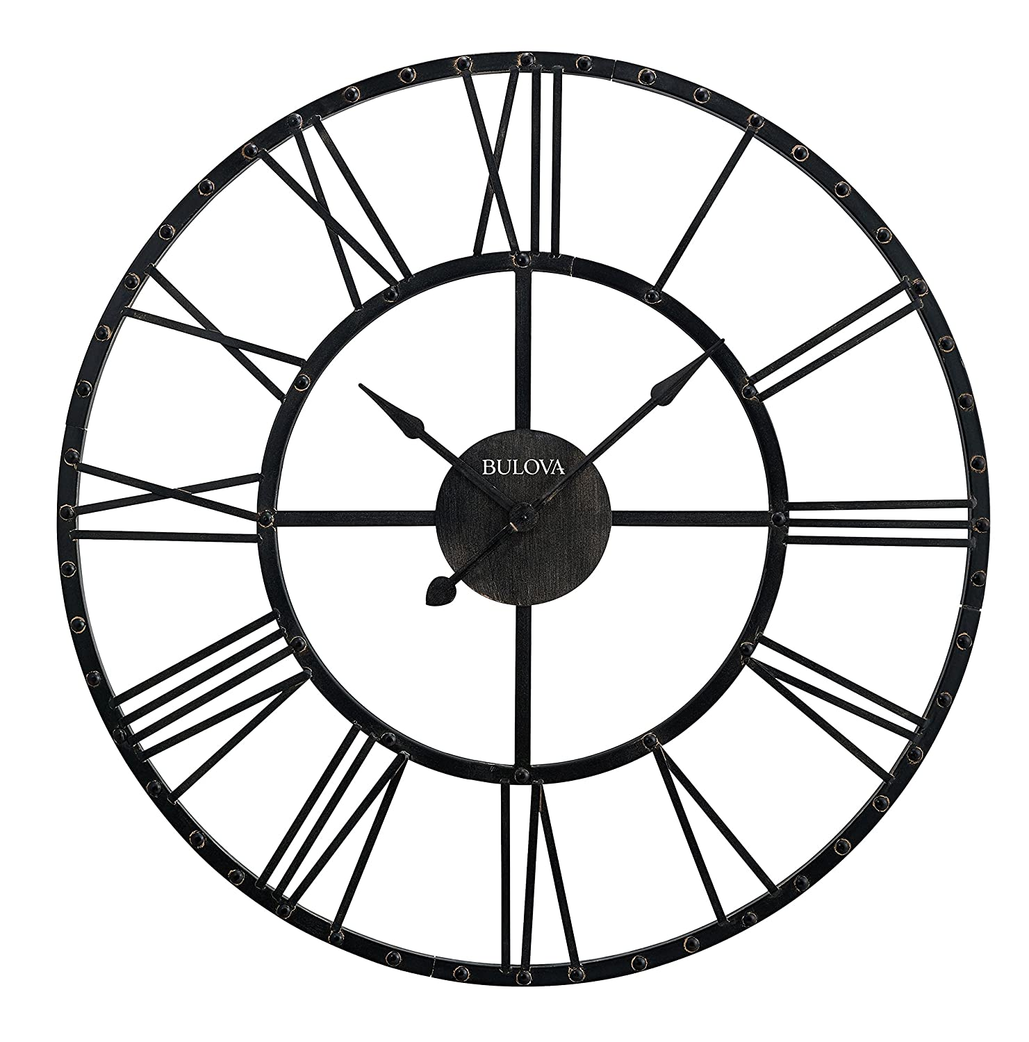Amazoncom Bulova Carmen Wall Clock Home Kitchen