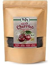 Biojoy Cerezas Secas BÍO | cerezas dulces cuidadosamente desecadas sin hueso | 100% naturaleza | calidad-premium-bío | sin impurezas, sin azufre y selladas sin azúcar | Prunus avium (1 kg)