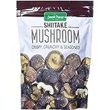 The Snake Yard Shitake Mushroom Crispy & Crunchy Net Wt 7.5 Ounce