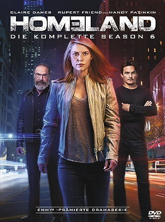 Homeland Die Komplette Season 6 4 Dvds Amazonde Claire Danes