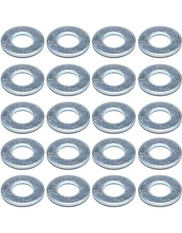 Rondelles Plates Métriques En Acier Inoxydable 50Pcs M3 tl
