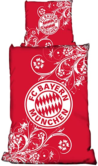 Bertels 11651 Fcb Fc Bayern München Bettwäsche Linon Girlie