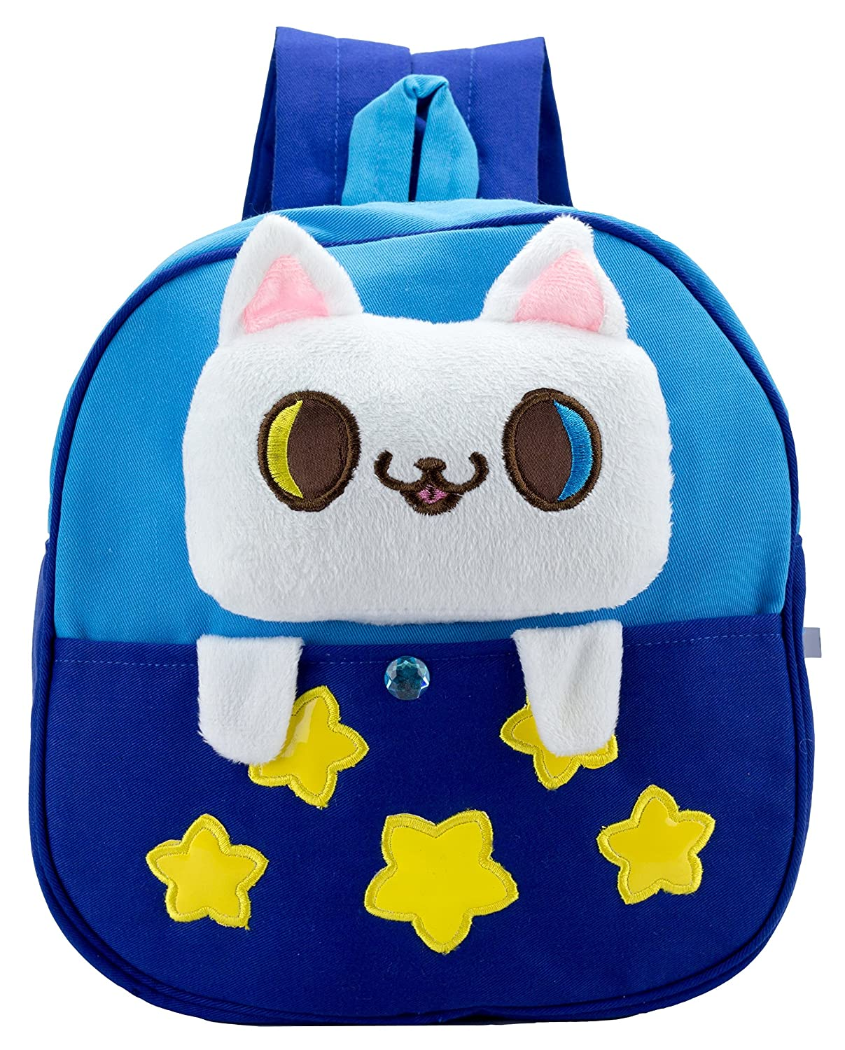 7c8911bde306 Amazon.com  JS My First Backpack - Cute Cartoon Animal Cotton Bag (Cat)   Baby