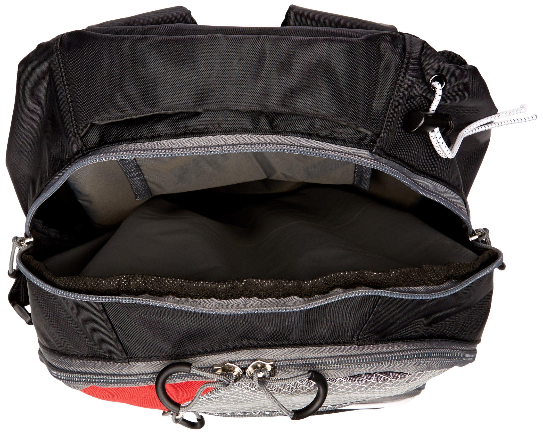 STX Lacrosse Sidewinder Lacrosse Backpack, Black/Red by STX (Image #3)