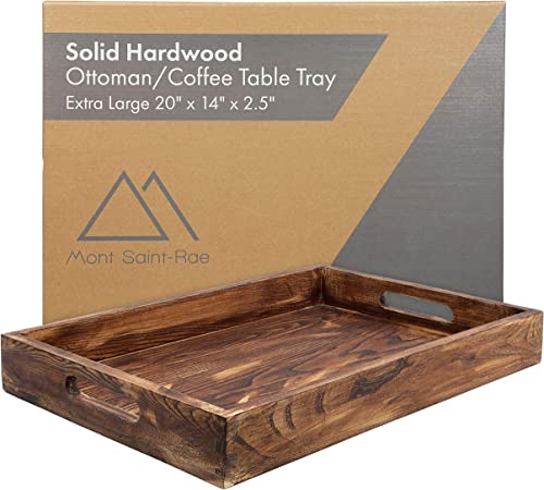 Solid Hardwood Coffee Table Tray Ash Wood