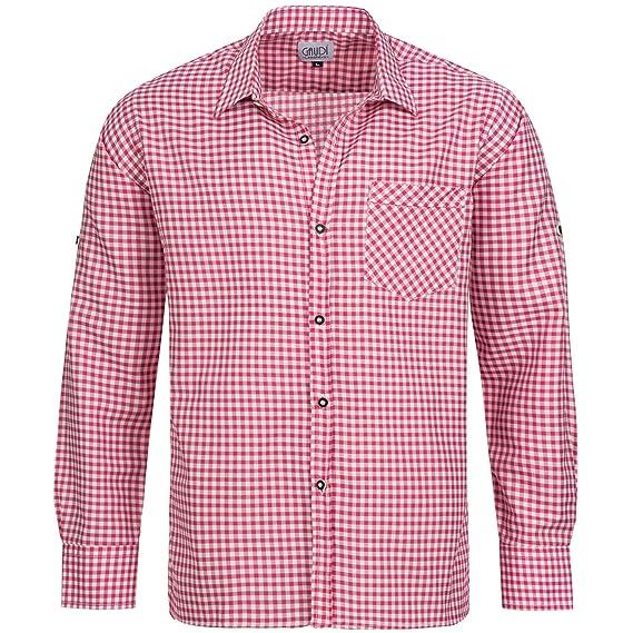 Gaudi-Leathers Traditional Camisa bávaro Traje de Tirolesa Moda ...