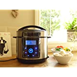Electric Pressure Cooker 14 in 1, 900W, 5L, LED Screen