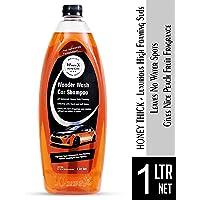 WaveX WW1K Wonder Wash Car Shampoo (1 L, Golden Orange)