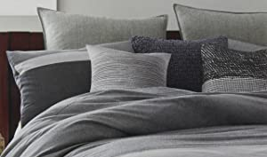 Kenneth Cole Reaction Home European Pillow Sham from the Fusion Bedding Collection in Indigo