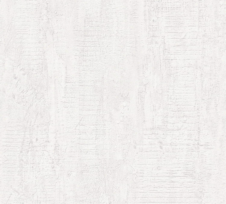 gris 944265 Sch/öner Wohnen Papier peint aspect b/éton Moderne