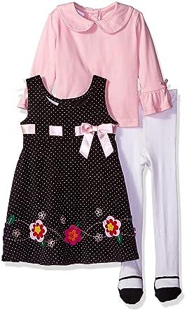 25ec1cd39c93 Amazon.com  Blueberi Boulevard Baby Girls  Corduroy Jumper Set  Clothing