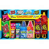 Bazooka Candy Brands Lollipop Variety Pack w/ Assorted Flavors of Ring Pop, Push Pop, Baby Bottle Pop, and Juicy Drop…