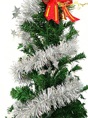 black friday sales christmas fringe tinsel garland 10 pcs 66 ft 2m - Black Friday Christmas Decorations