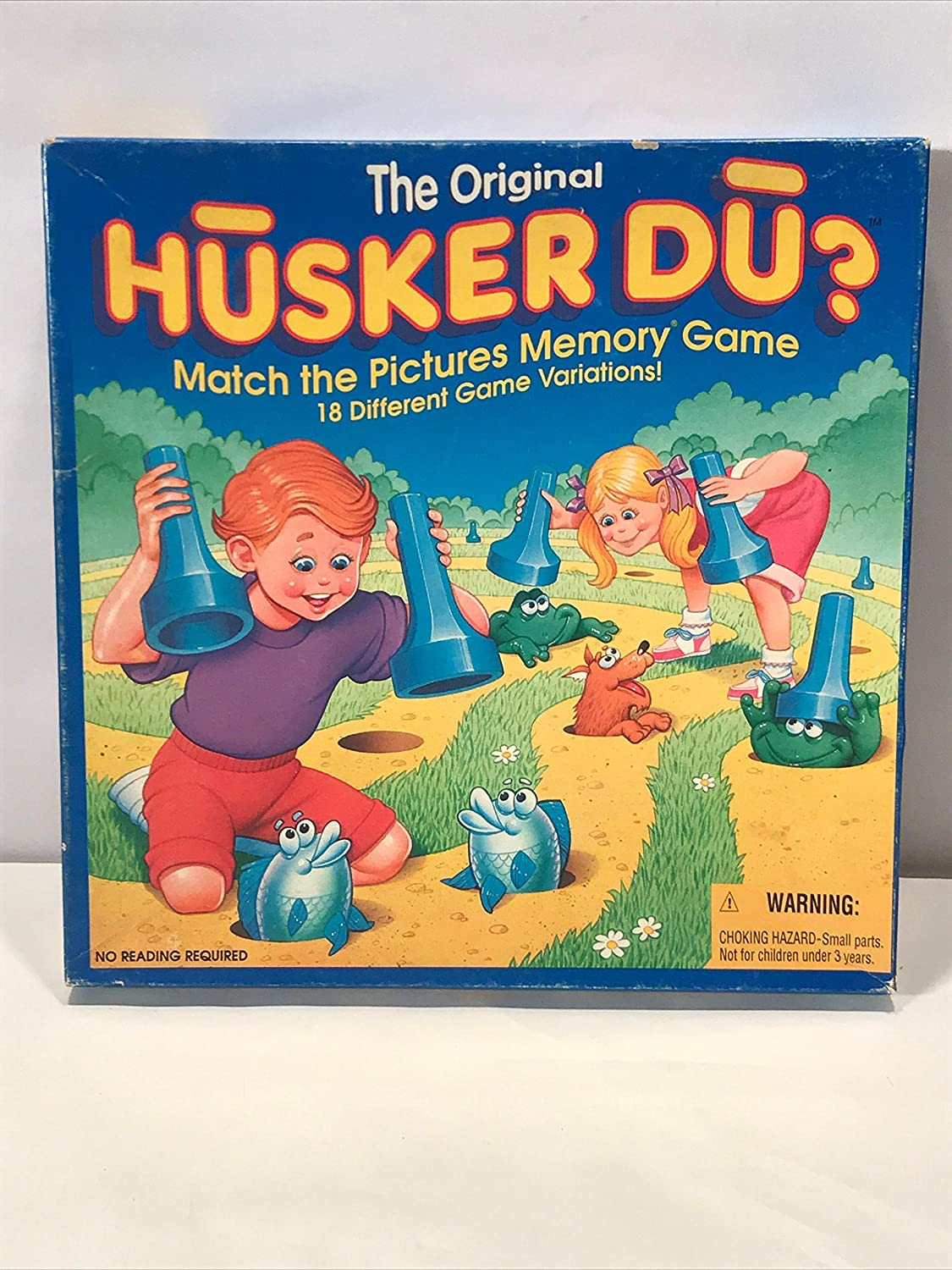 Match the Pictures Memory Game The Original Husker Du