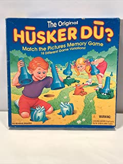 The Original Husker Du? Match the Pictures Memory Game