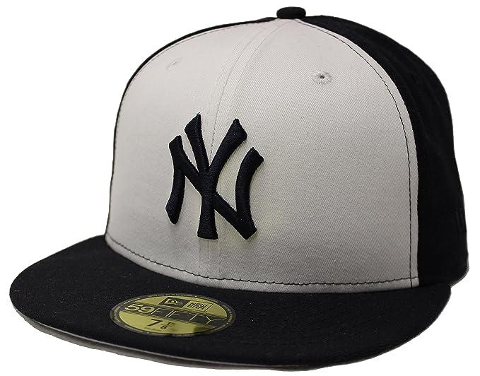 96bdd2ed665 New Era 59Fifty Pinwheel New York Yankees White Navy Fitted Cap (7 1 2