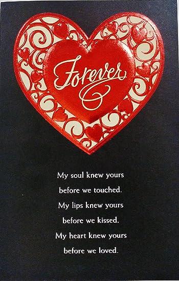 Valentine Lips Card for Boyfriend Valentine Lips Card,Valentine Card for Husband,Kiss Card Handmade Valentines Card Valentines Day Card