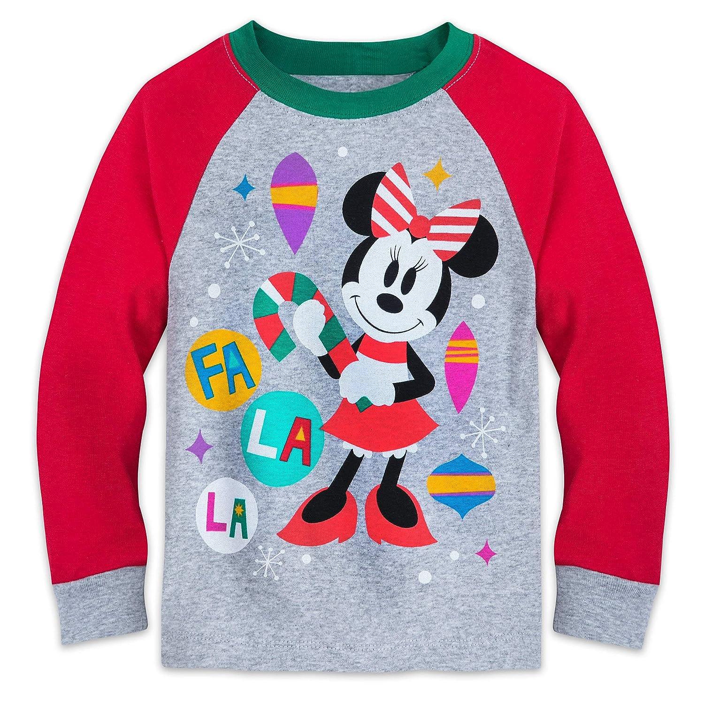 fd142f12ca879 Amazon.com  Disney Minnie Mouse Christmas Pajamas for Kids Multi  Clothing