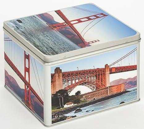 Álbum de fotos Metal – Lata Caja Almacenaje Caja Bote para galletas