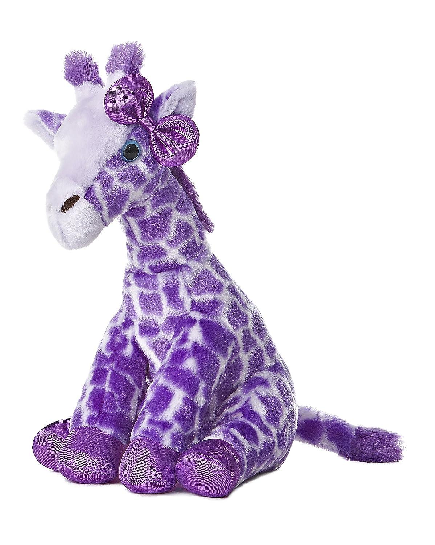 Aurora World Girlz Nation Purple Giraffe Plush, 12 by Aurora World