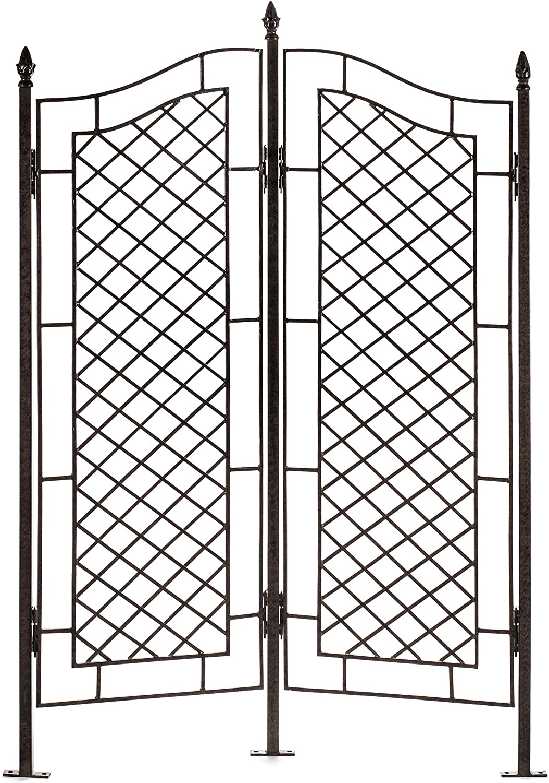 H Potter grandes enrejado de hierro forjado dos Panel Ivy Jardín Protector de: Amazon.es: Jardín