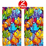 KAUFMAN - Clownfish School Printed Beach Towel (106031) - 2 Pack Set