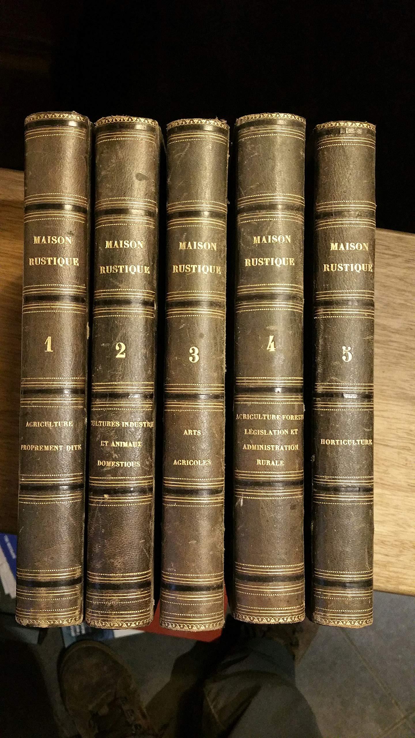 Amazon.fr - Maison rustique du XIXème siècle: les 9 volumes reliés