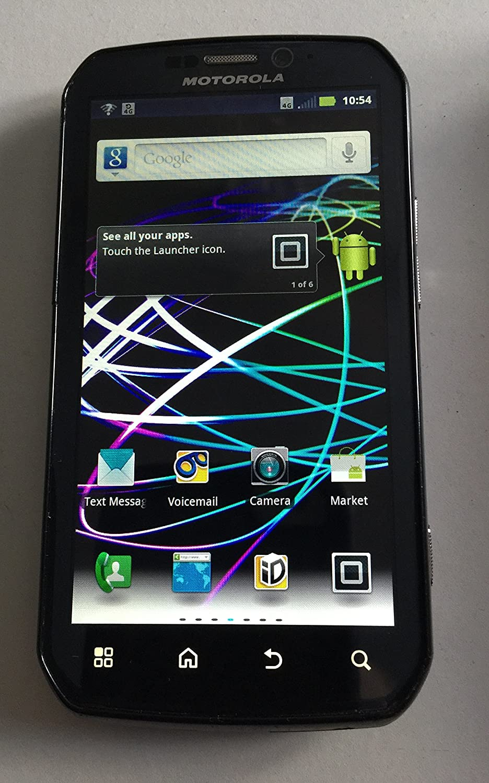 Amazon.com: Motorola Photon 4G MB855 Sprint CDMA Android Cell Phone -  Black: Cell Phones & Accessories