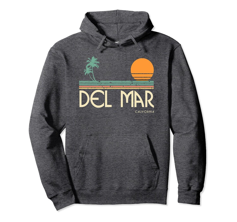 Vintage Del Mar California Surf Hoodie-ln