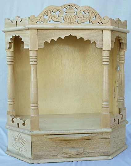 ea9ae2e1aca Buy Shiv Enterprise Wooden Temple   Sevan Wood Temple   Home Temple ...