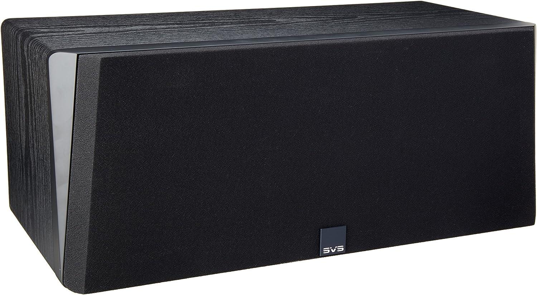 SVS Prime Center Speaker – Premium Black Ash