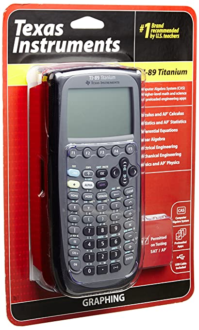 amazon com texas instruments ti 89 titanium graphing calculator rh amazon com texas instruments ti 89 manuale italiano texas instruments ti-89 titanium manual