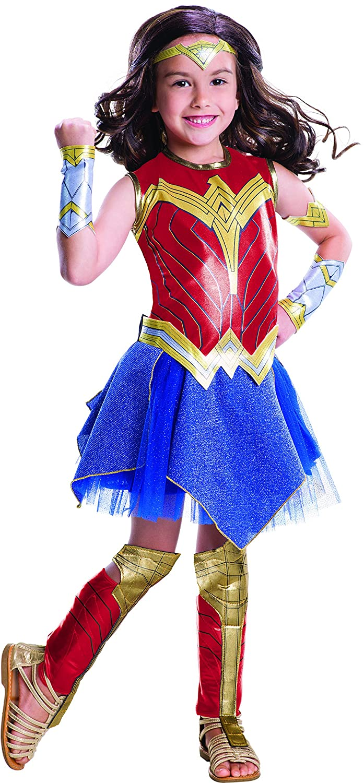 Wonder Woman Movie Childs Deluxe Costume, Medium