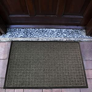 "Doortex Ribmat Charcoal Gray Indoor Entrance Mat 36"" x 48"""