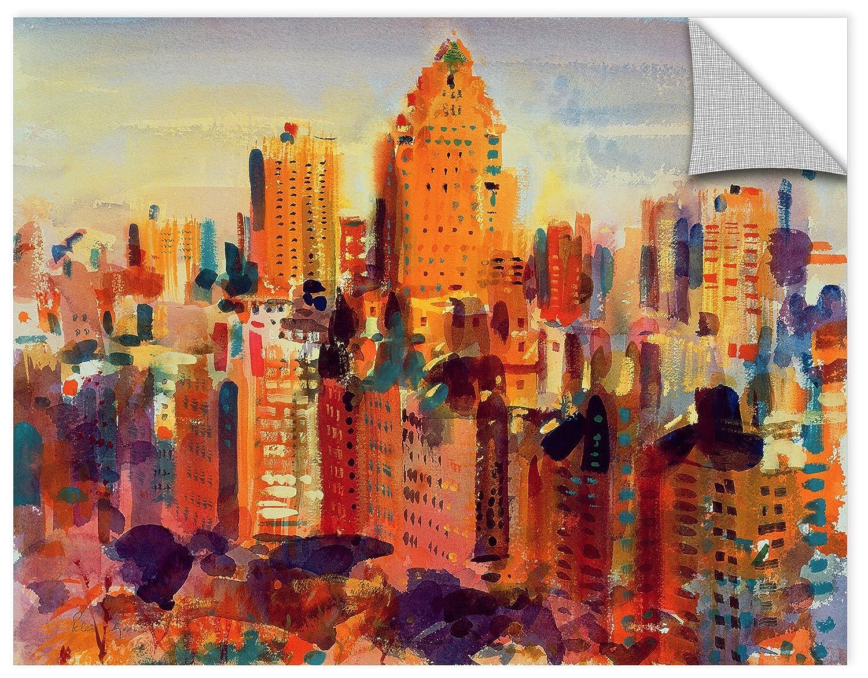 Peter Graham Upper Manhattan 14X18 2000 Removable Wall Art Mural