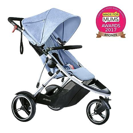 Phil & Teds DASH_V5_3 - El carrito inline más ligero: Amazon.es: Bebé