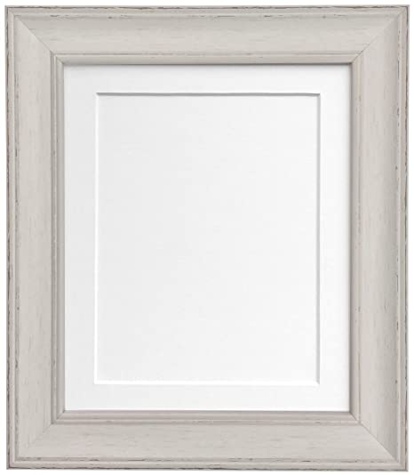 Frames By Post Scandi Vintage Distressed Pale Grey Picture Photo