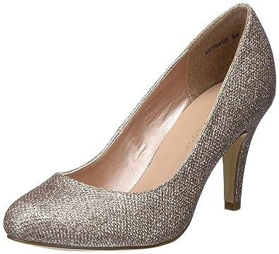 b7f4bab79f New Look Women's Wide Foot Reanna Closed-Toe Heels: Amazon.co.uk ...