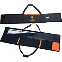 """Rugged Tools Guide Rail Bag - Protective Track Saw Bag For Saw Guide Rails up to 59""""…"""